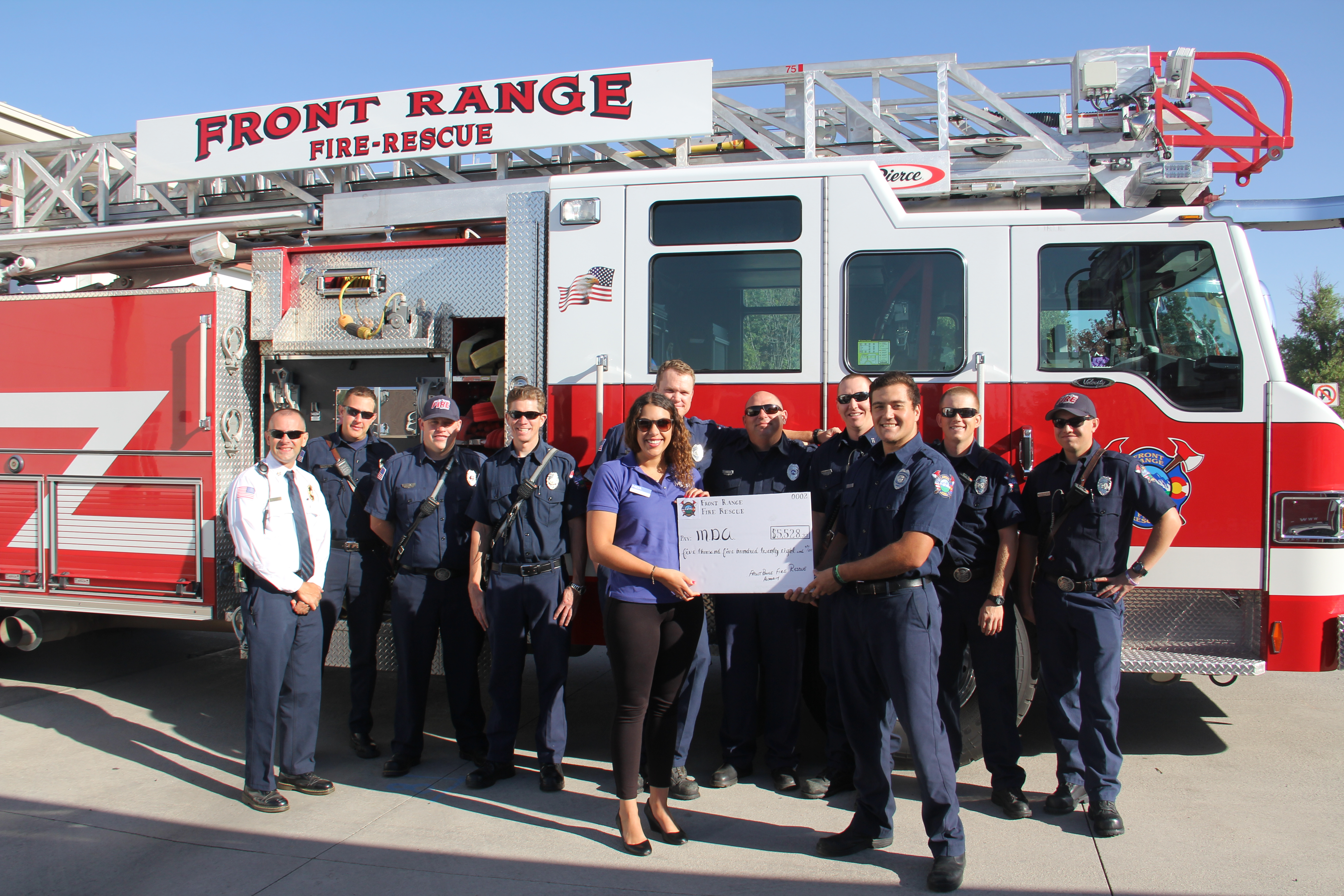 Front Range Fire Rescue Authority raise funds for MDA.