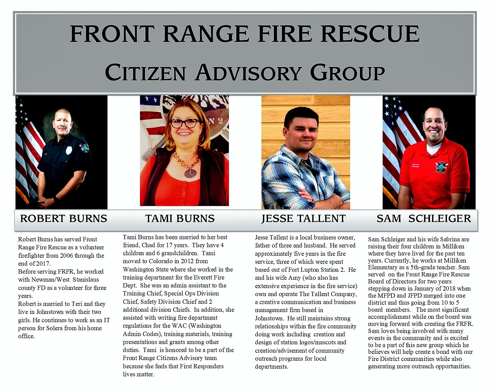 2019 Citizens Advisory Group