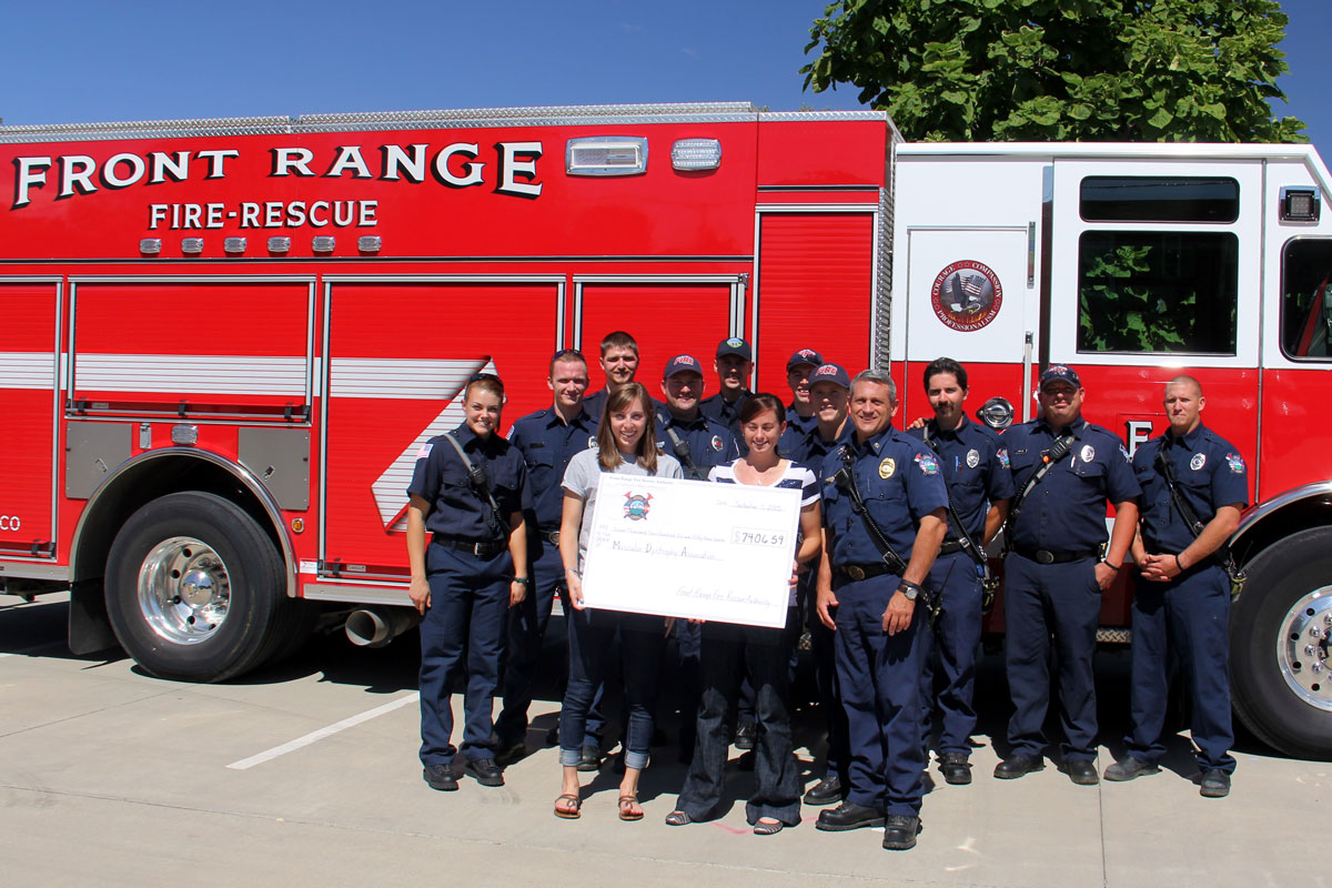 Front Range Fire Rescue Authority raises funds for MDA