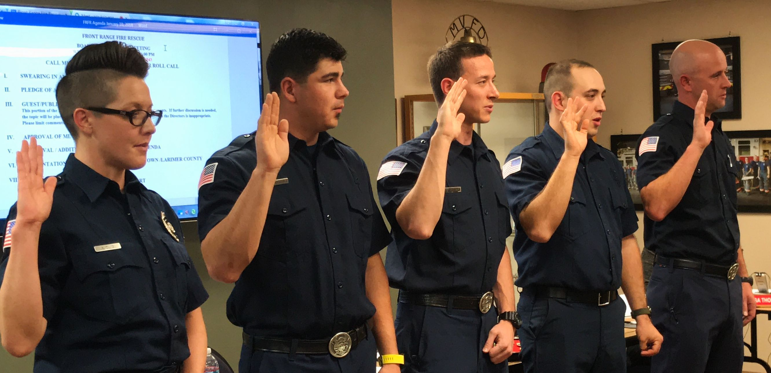 Congratulations to our 2018 Firefighters