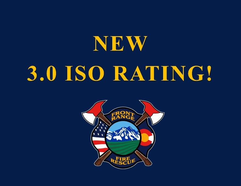 New ISO Rating Announced!