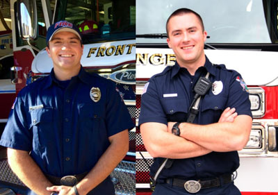 FRFR Authority Hires 2 Full-time Firefighters