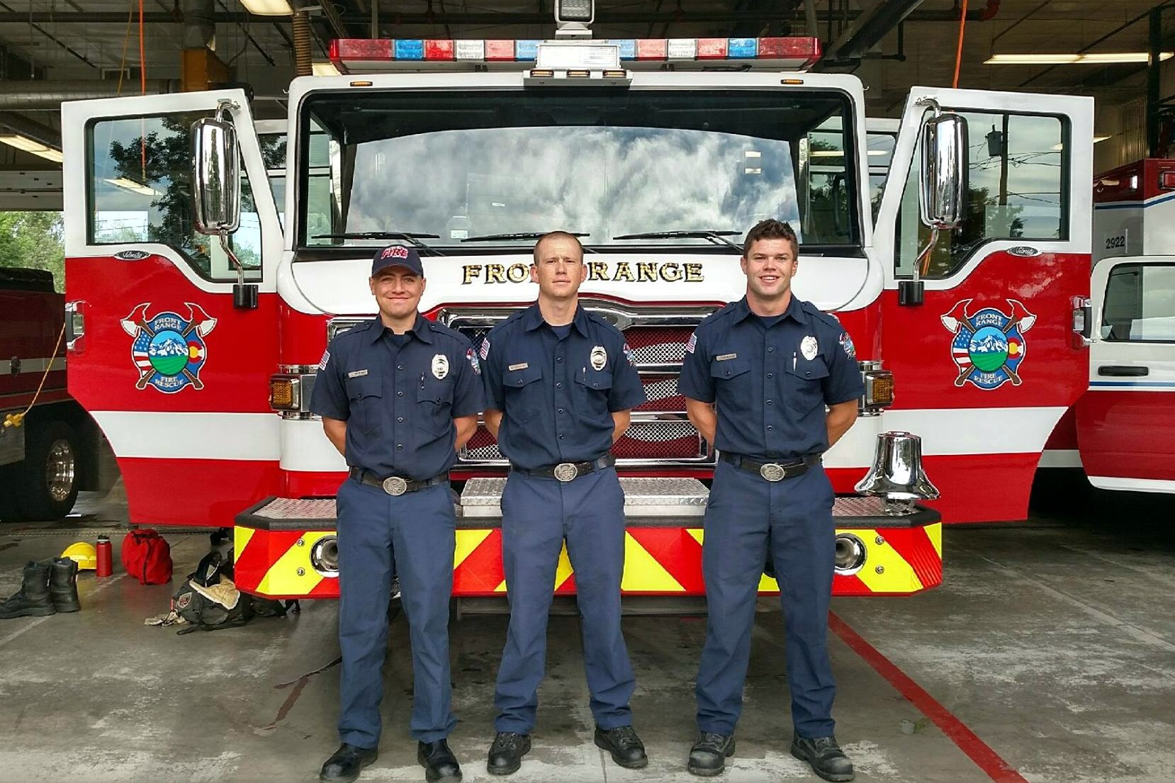 Congratulations to our     NEW FIREFIGHTERS!