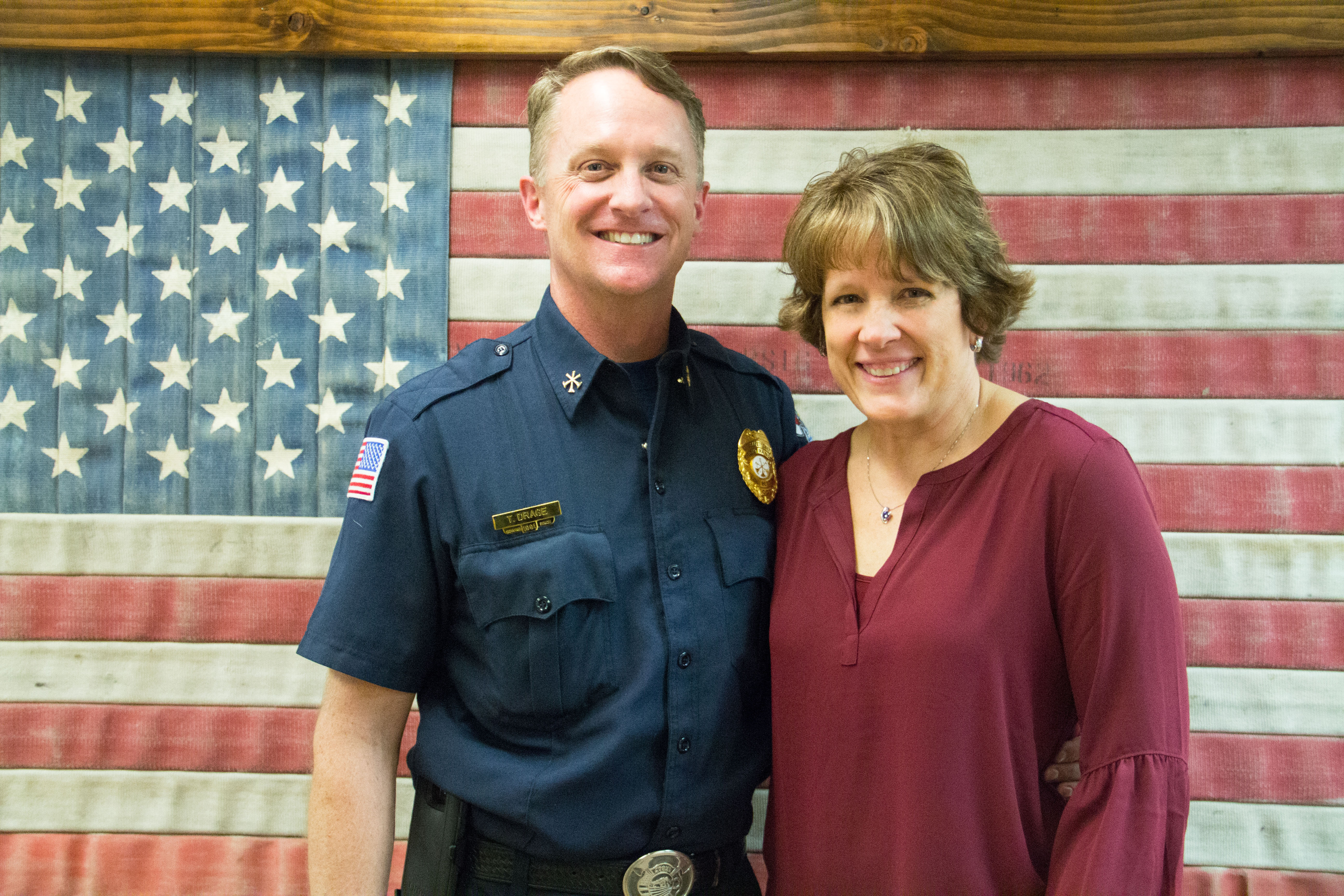 TYLER DRAGE APPOINTED LIFE SAFETY CHIEF/FIRE MARSHAL