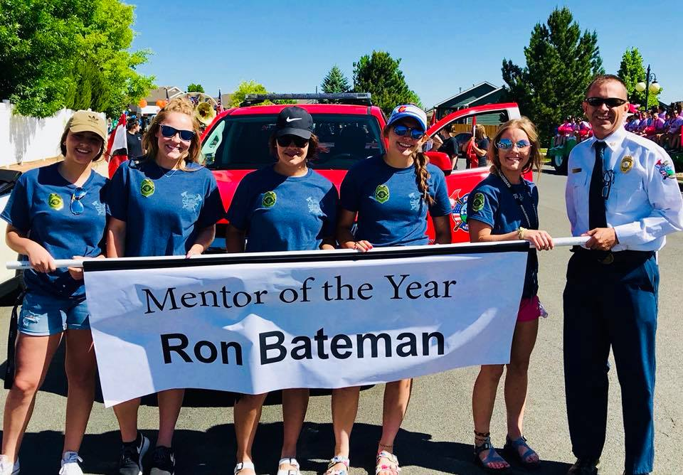 Congratulations to Chief Bateman, 2018 Mentor of the Year!