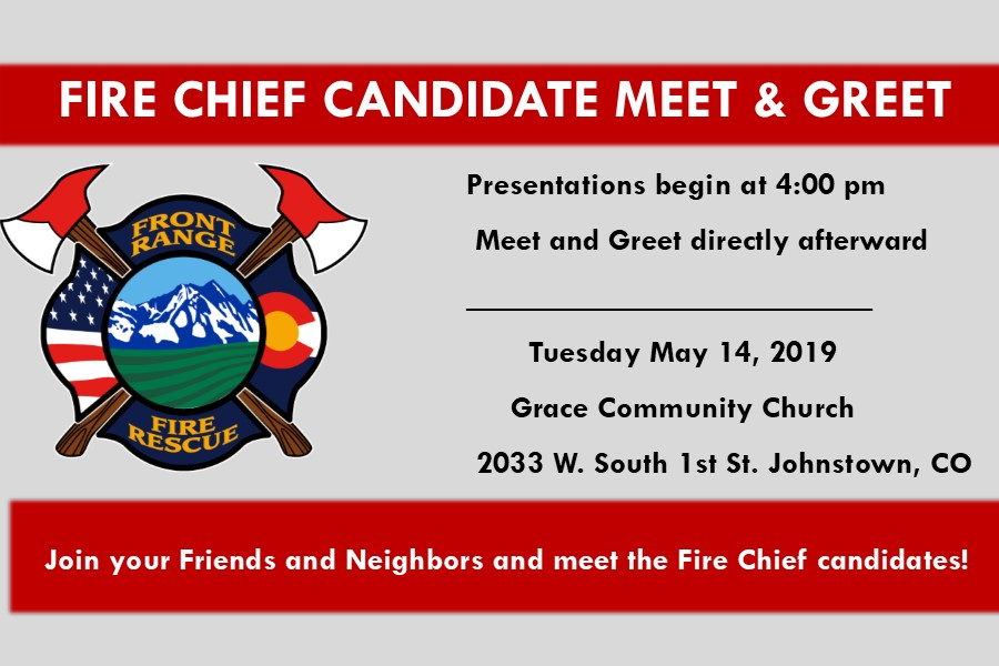 FINAL CANDIDATES FOR FRONT RANGE FIRE RESCUE FIRE CHIEF ANNOUNCED!