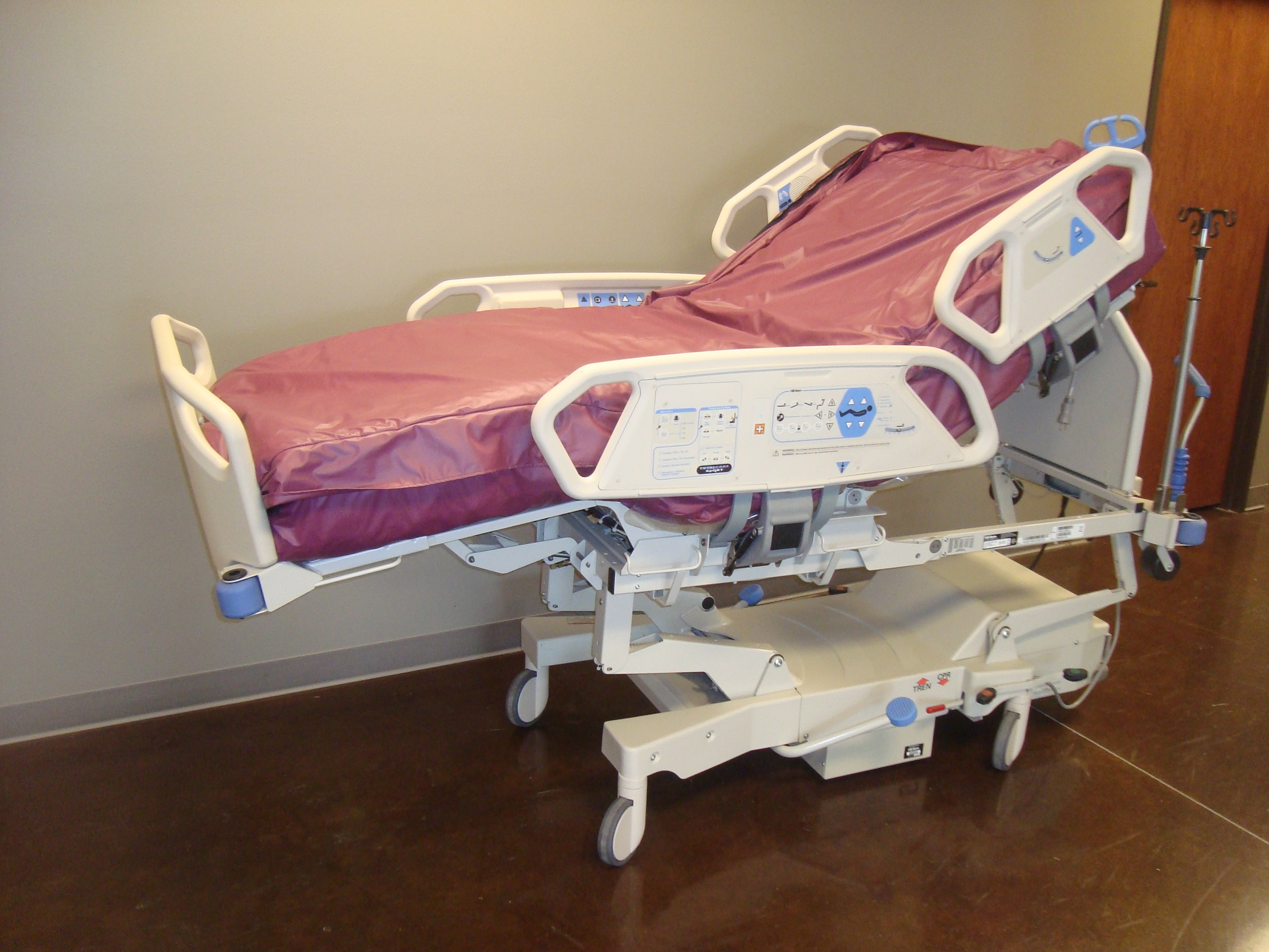 Image of a Hill Rom Total Care ICU Beds
