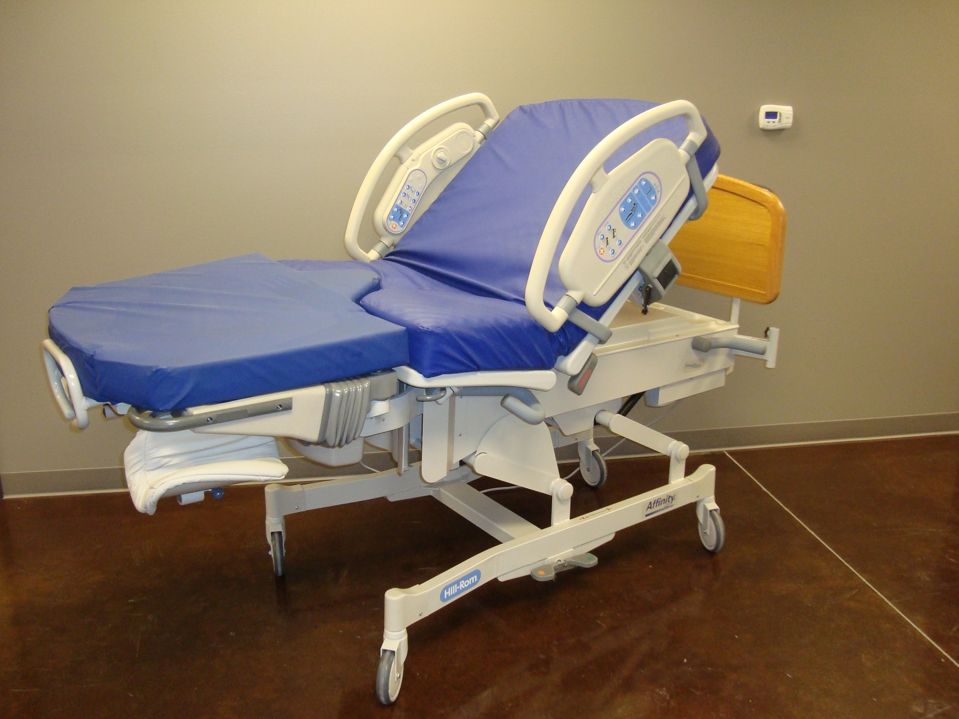 Image of a Hill Rom Affinity III Birthing Bed