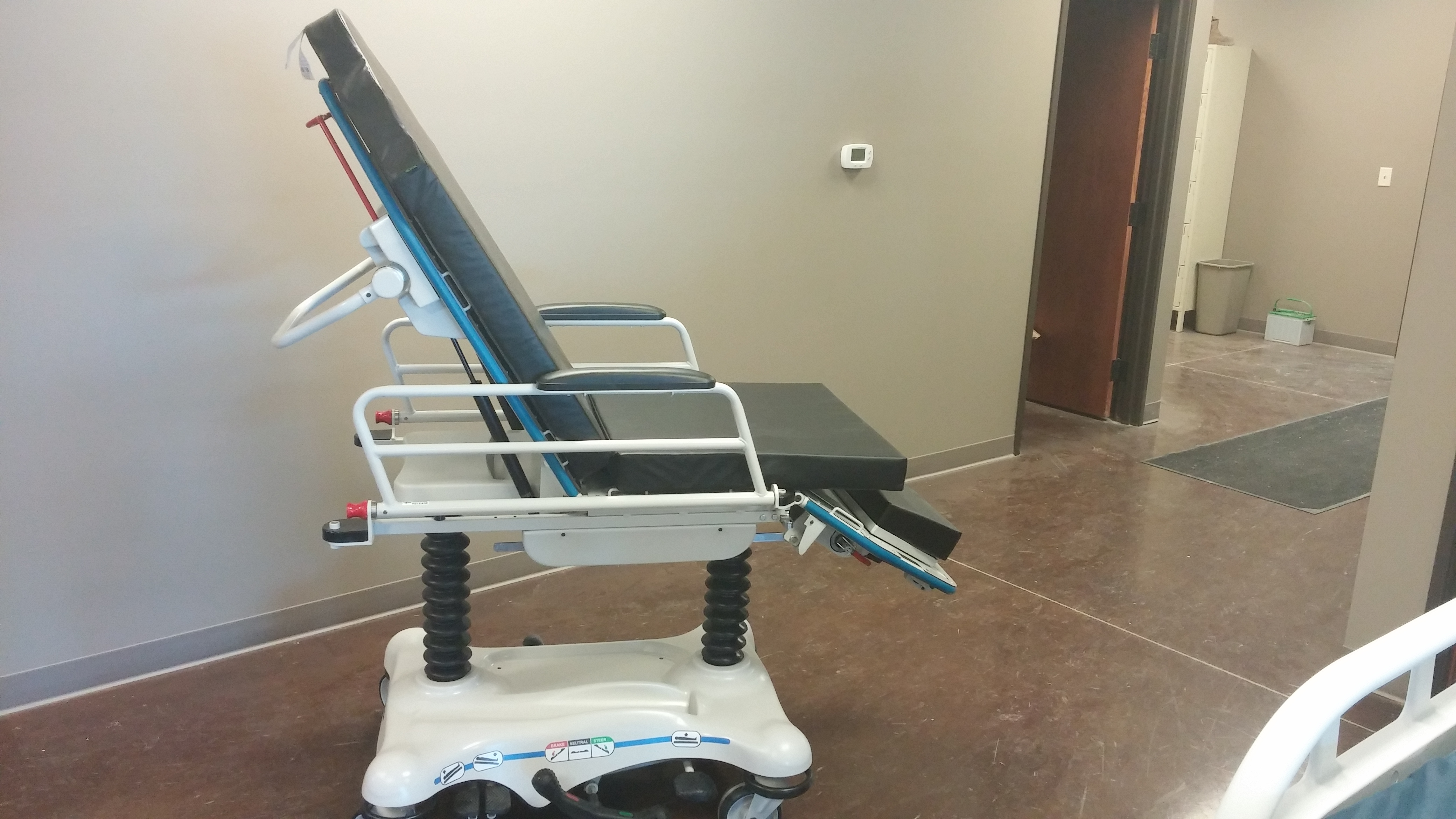 Image of a Stryker 5050 Stretcher Chairs