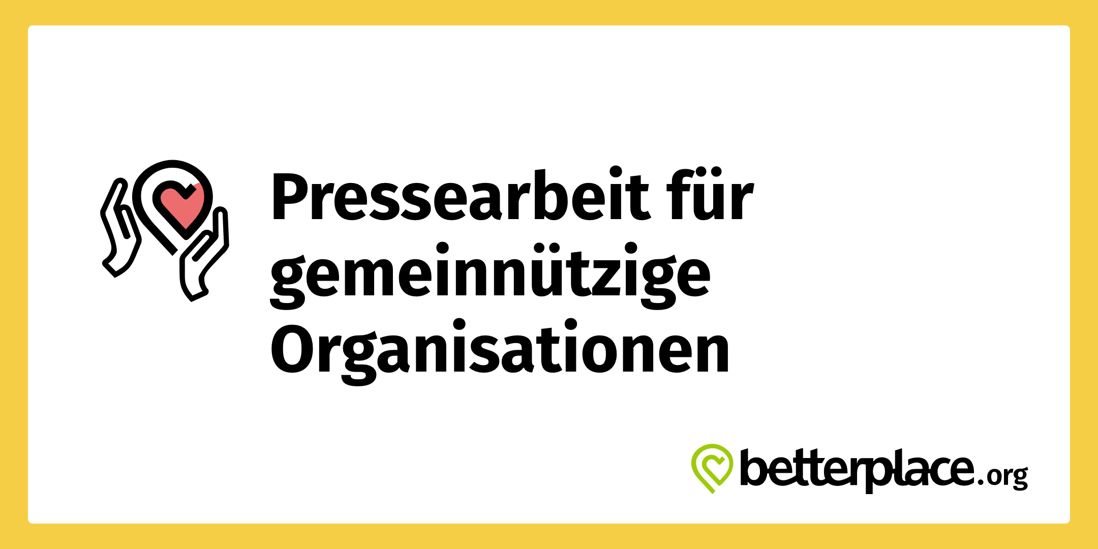 betterplace.org Pressearbeit für gemeinnützige Organisationen