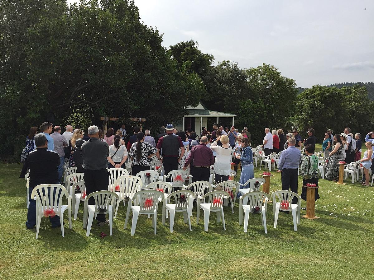 Waitawheta Camp Wedding - November 2017