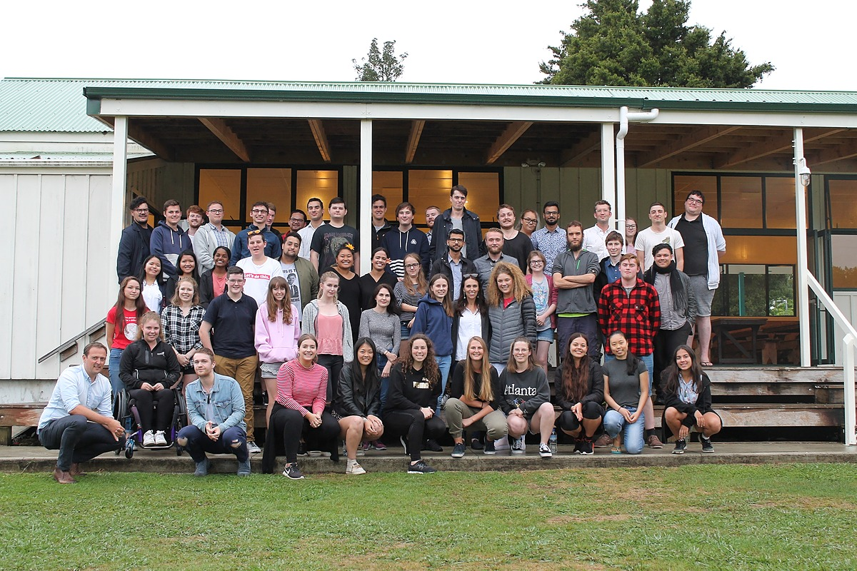 Prime Minister Visits Waitawheta Camp