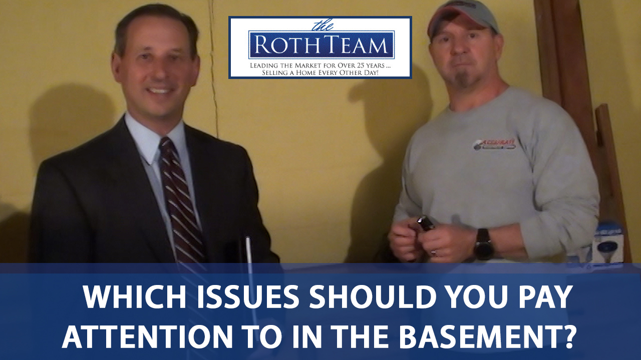 Common Basement Concerns for Homebuyers & Homeowners