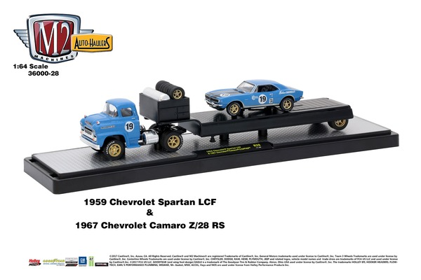 Haulers - 1:64 scale (sold in Outer's of 6)