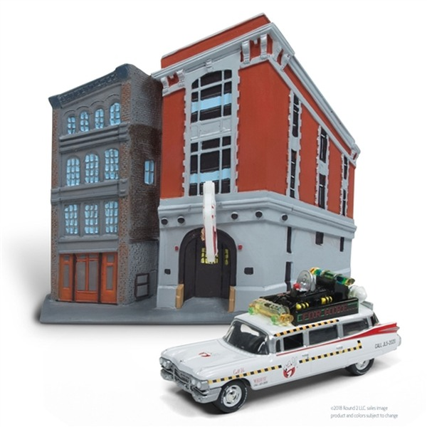 Ghostbusters Firehouse with Ecto