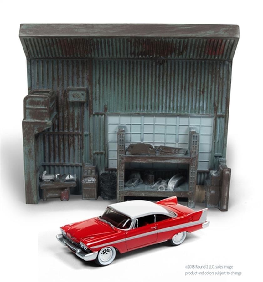 Darrel's Garage with 1959 Christine