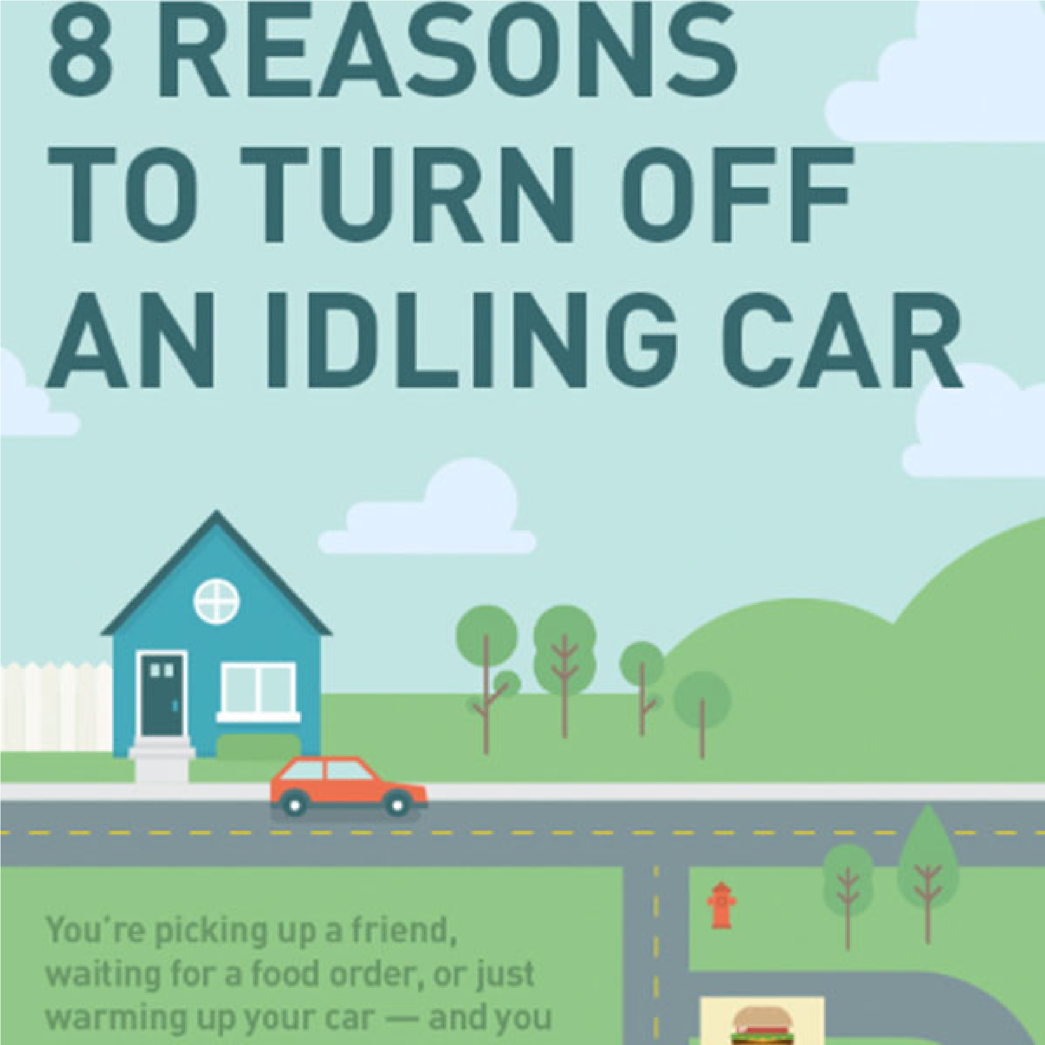 Infographic: 8 Reasons to Turn Off an Idling Car