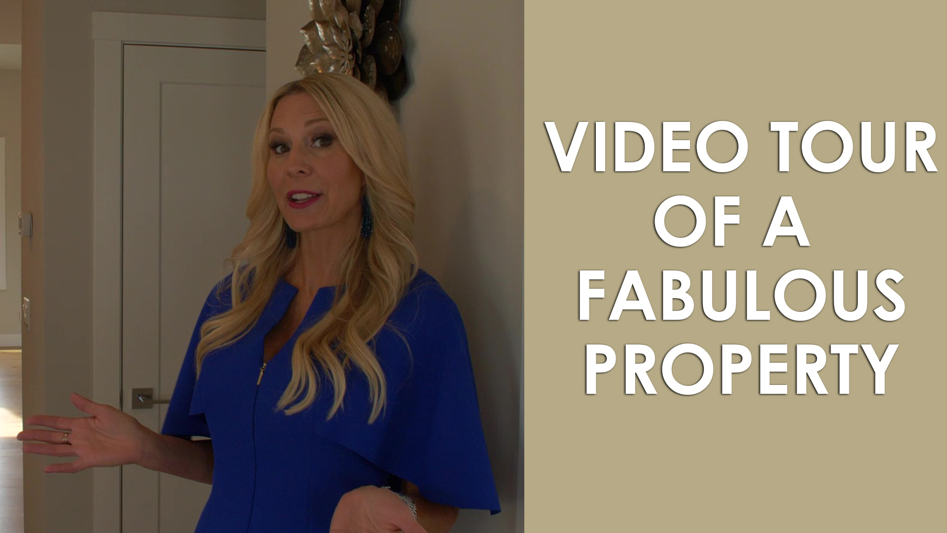 Come Along for a Video Tour of This Fabulous, Elegant Property