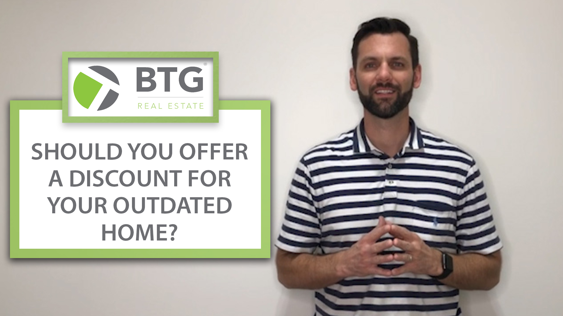 My Thoughts on Offering Discounts for Outdated Homes
