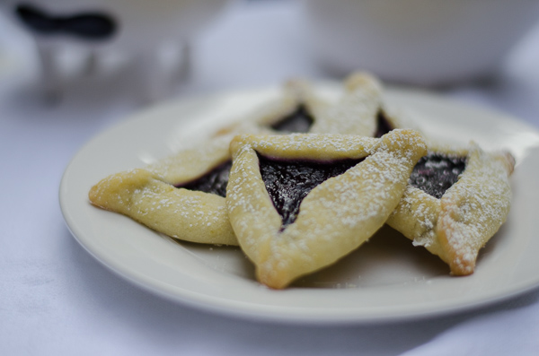 Blueberry Lime Hamantaschen