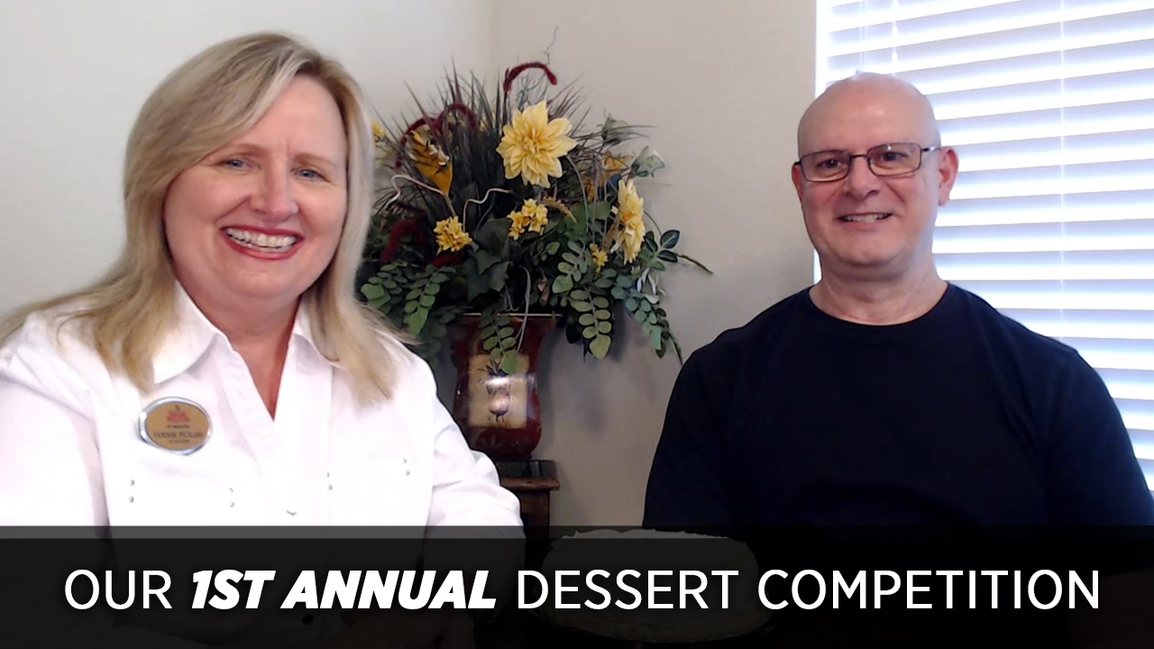 Our 1st Annual Dessert Competition