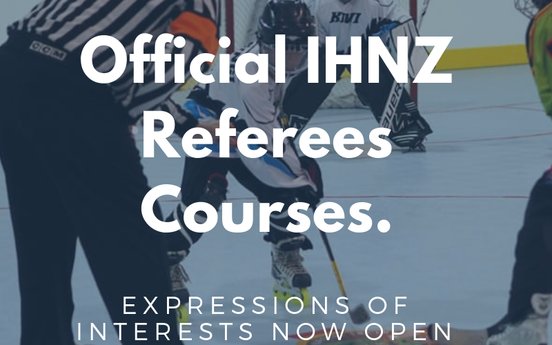Official IHNZ Referee Training Courses EOI Now Open