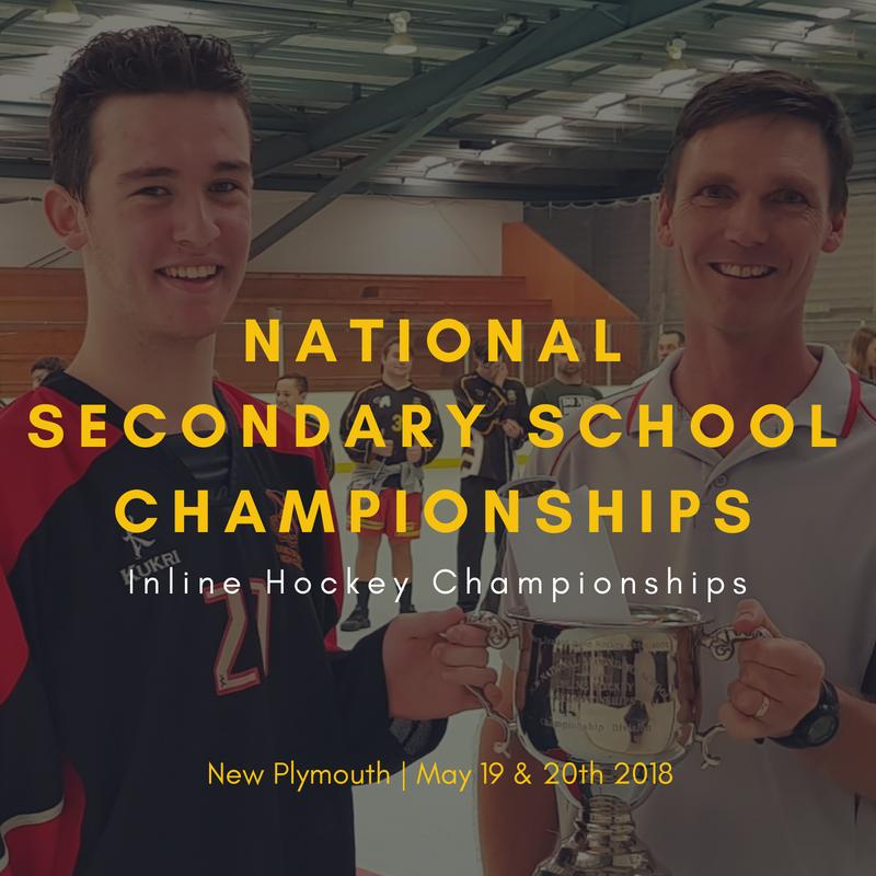 NZ Secondary School Inline Hockey Championships 2018
