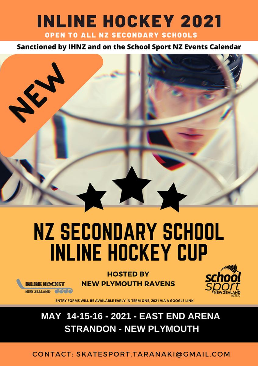 NZ Secondary School Inline Hockey Cup 2021