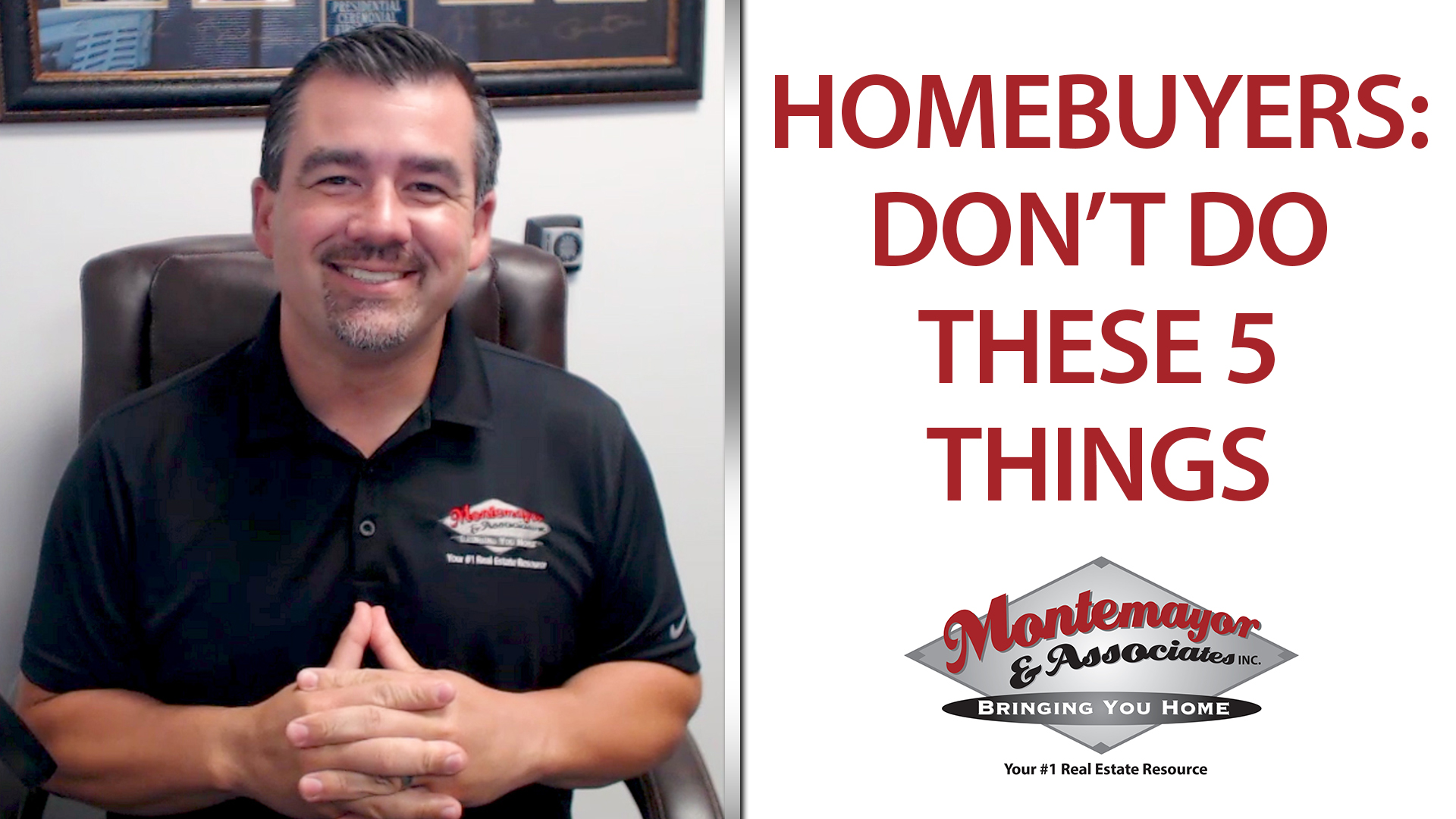 What Should I Avoid as a Homebuyer?