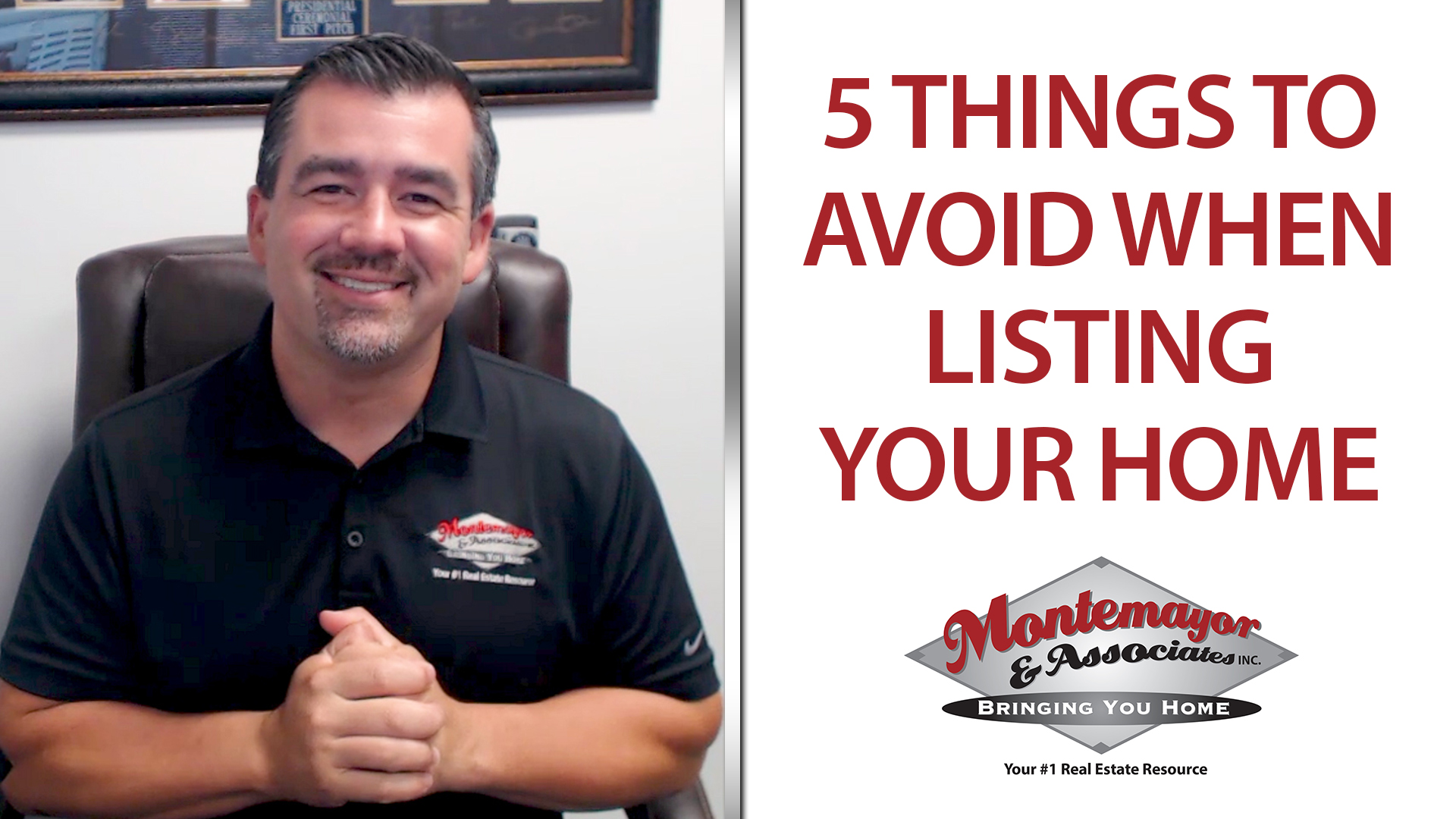 What Should You Avoid Doing If You're Listing Your Home?