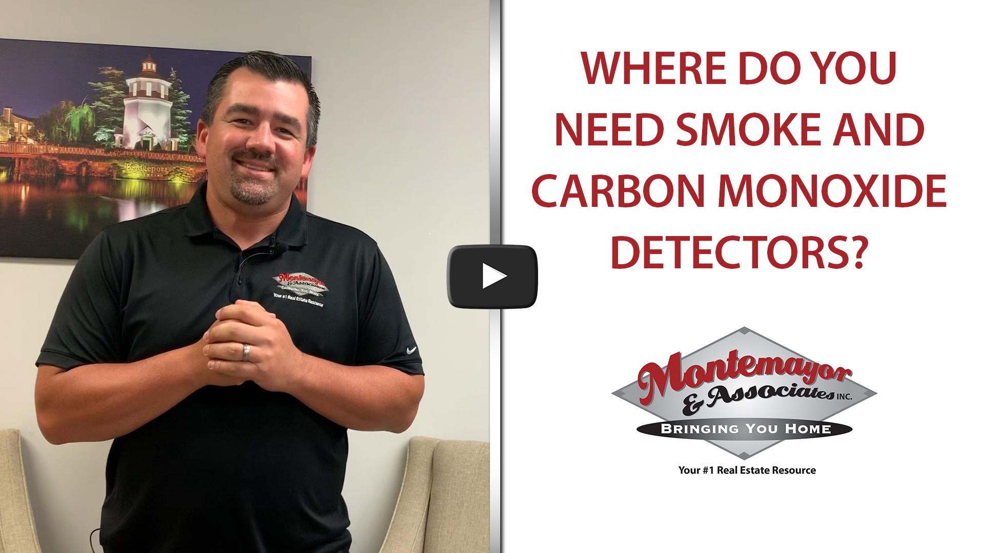 Where to Place Smoke and Carbon Monoxide Detectors