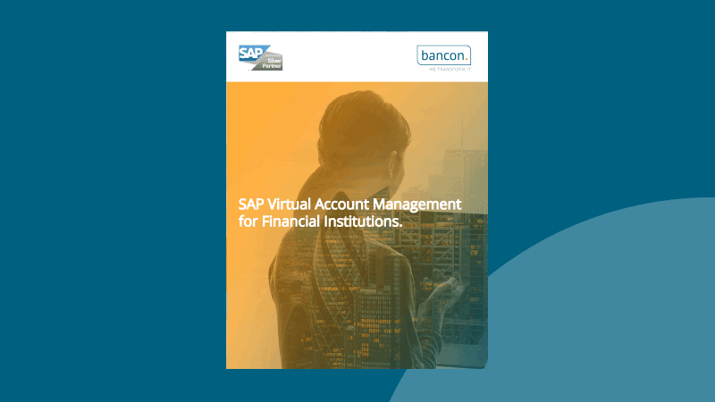 Introducing SAP Virtual Account Management for Financial Institutions
