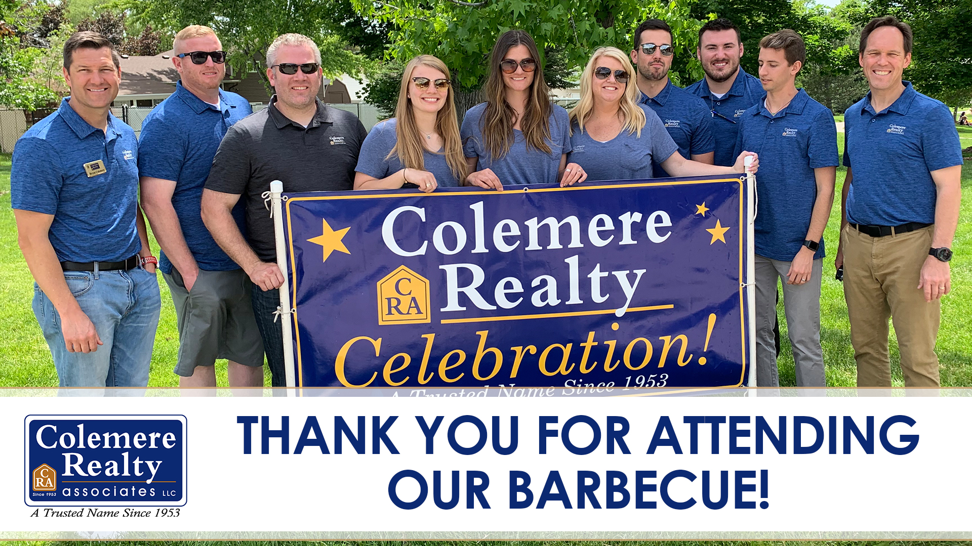 Thank You for Attending Our Summer Barbecue Kickoff