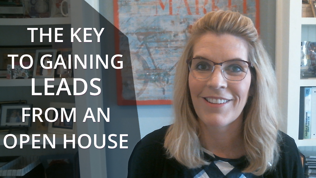 The Key to Gaining Leads From an Open House