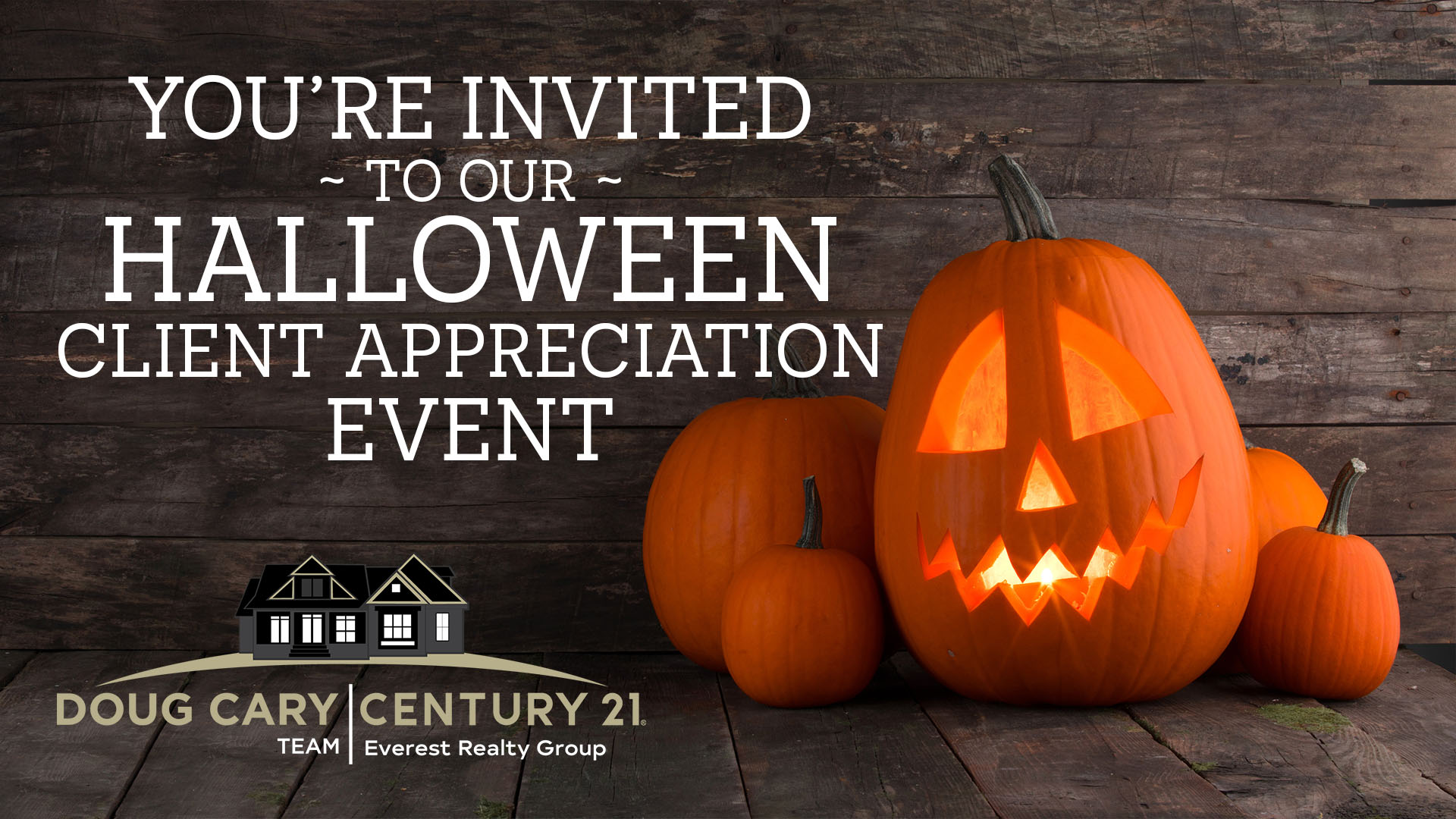 You Won't Want to Miss This Halloween Client Appreciation Event