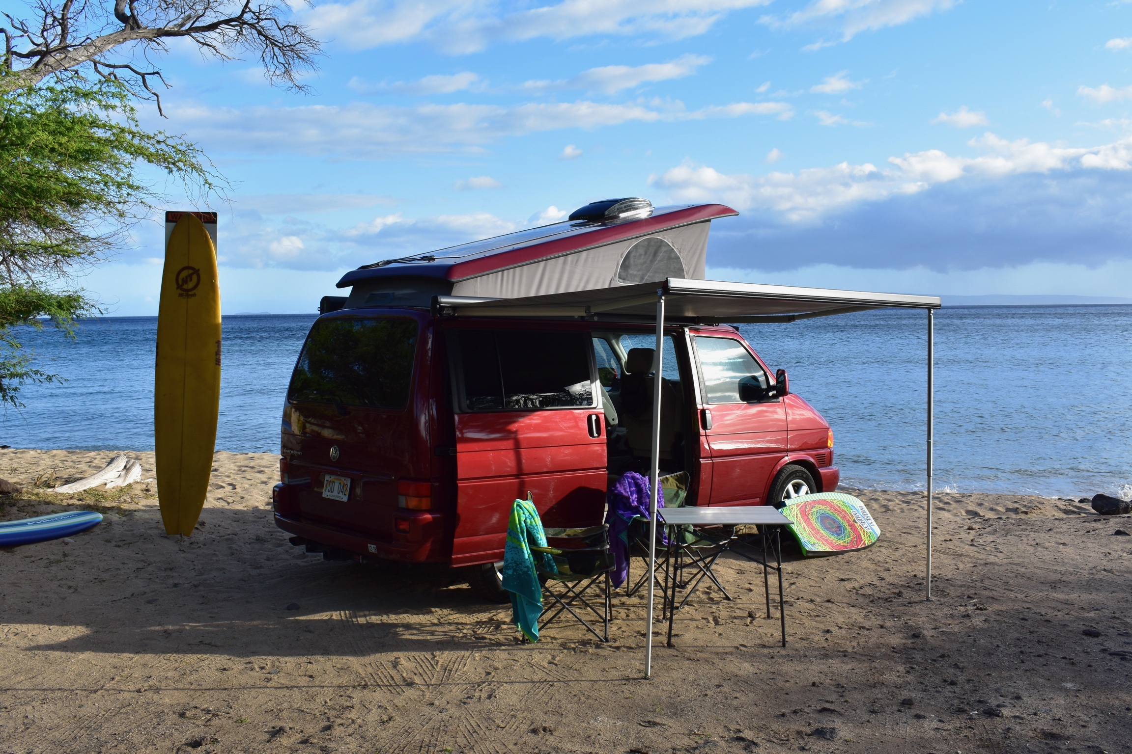 The VW Westfalia - $139/day + fees