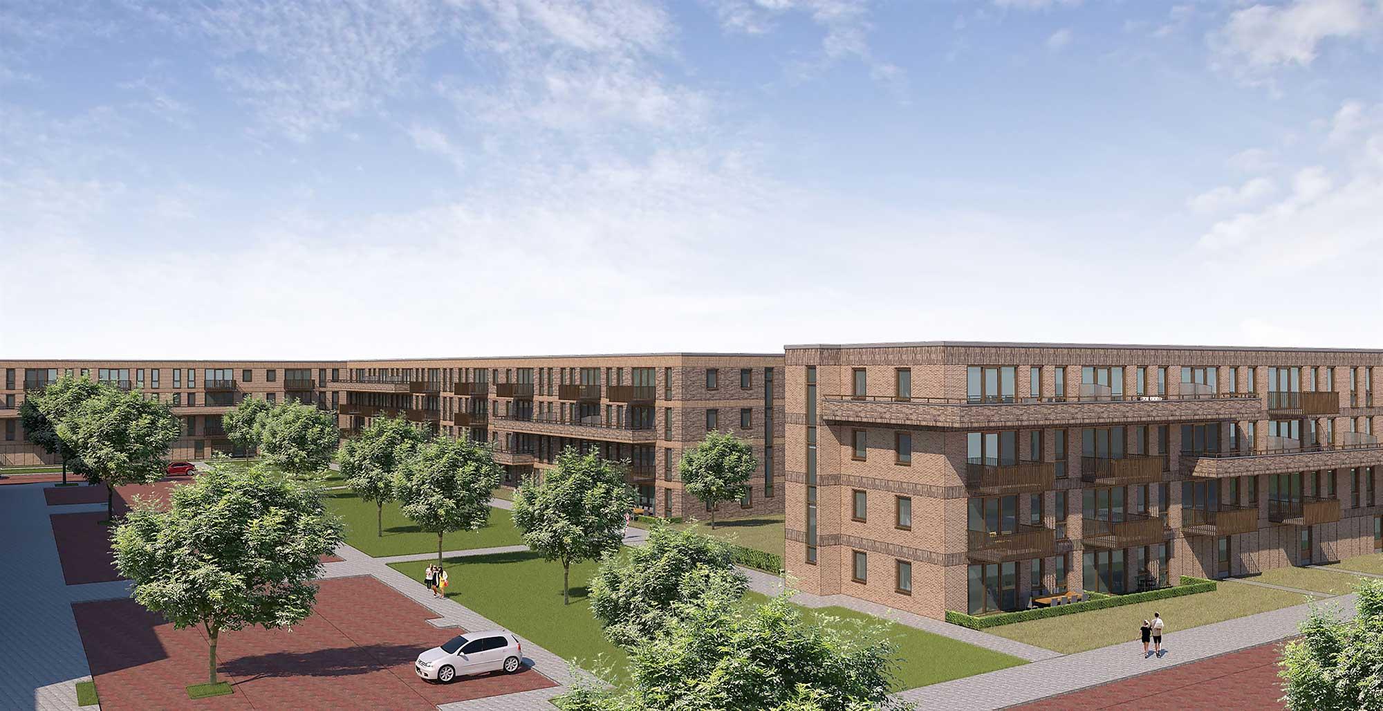 KBM Groep sloopt en bouwt in Haarlemse wijk Parkwijk