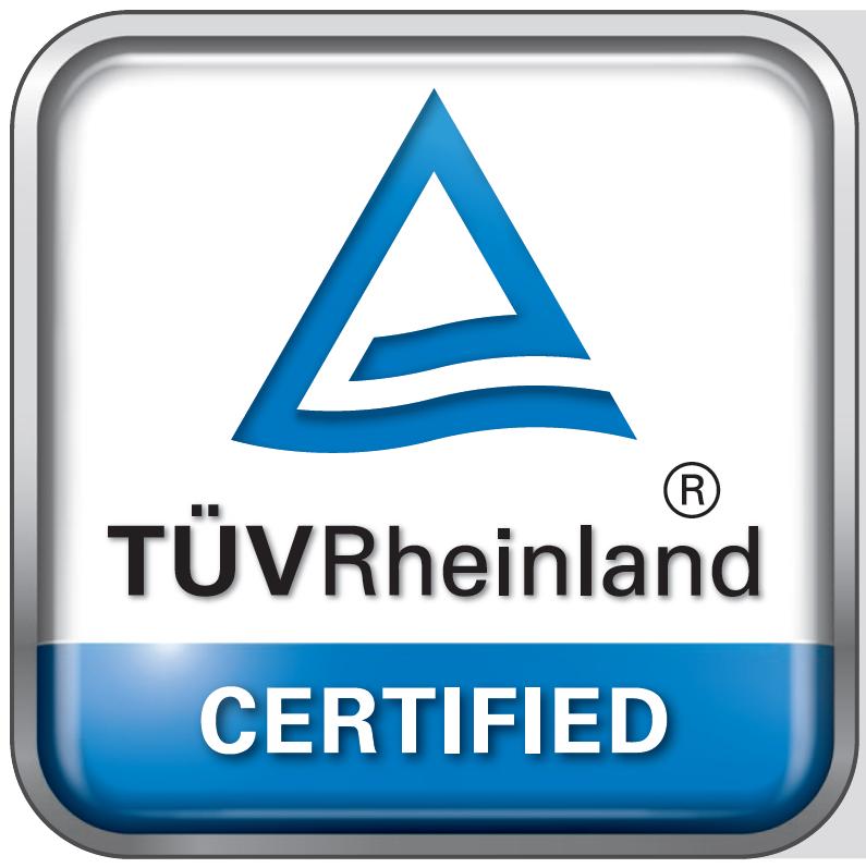 TÜV certified corporate carbon footprint.
