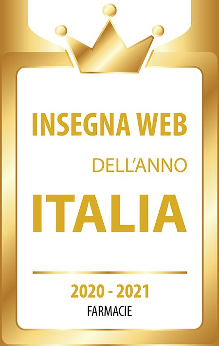 Insegna Web Dell'anno Italia
