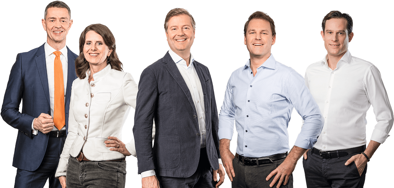 SHOP APOTHEKE EUROPE - Management Board: Stefan Feltens, Stephan Weber, Theresa Holler, Marc Fischer