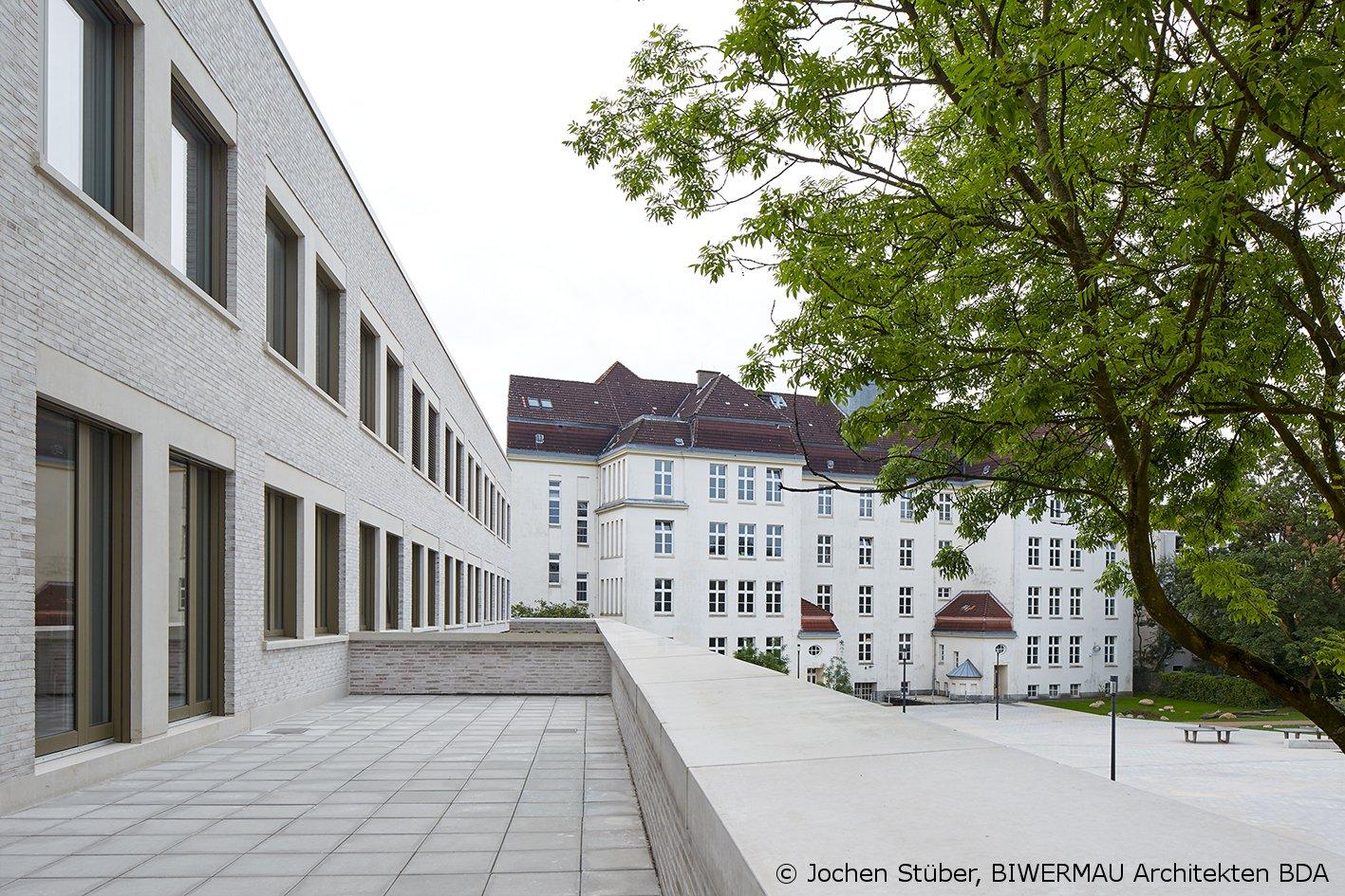 Schulgebäude des Gymnasium Hoheluft