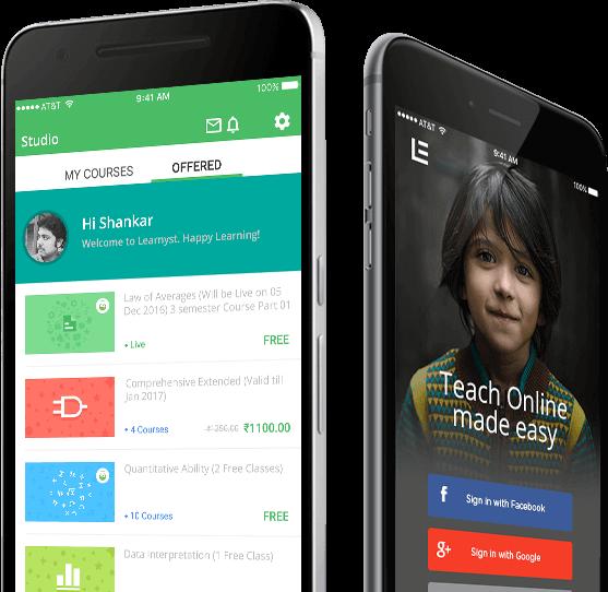 teaching mobile apps