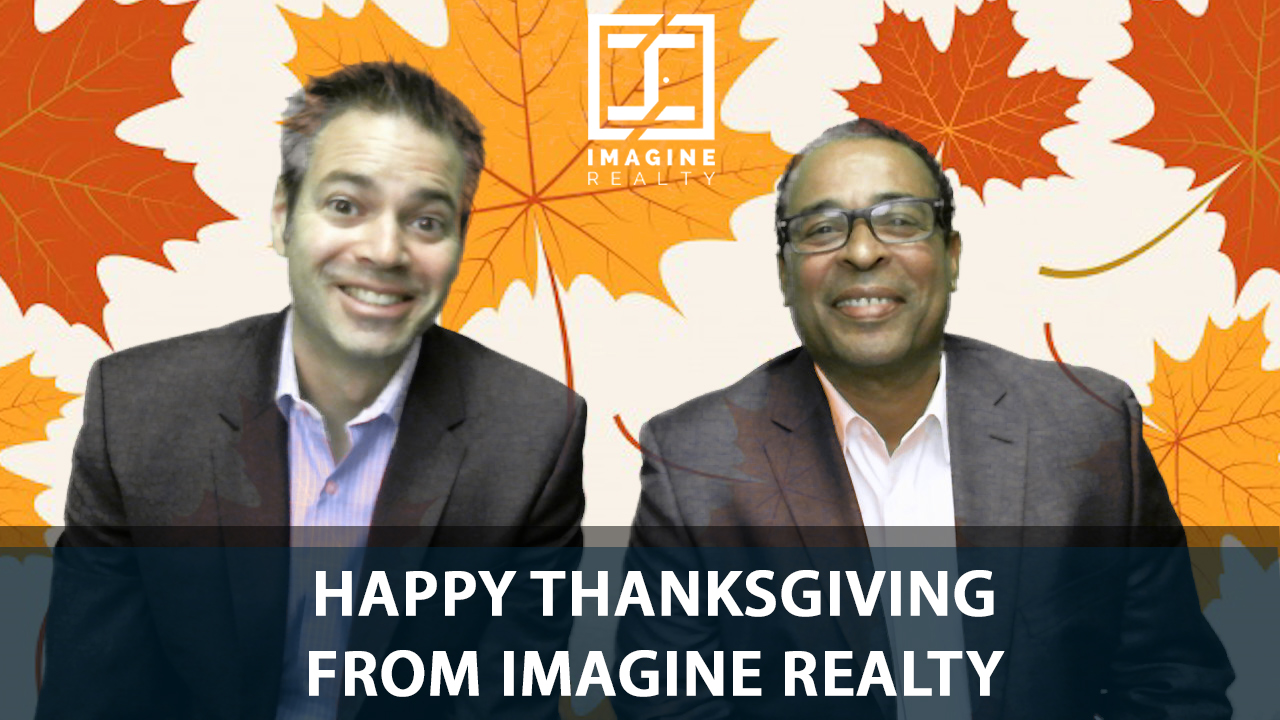 Imagine Realty Wishes You Happy Thanksgiving