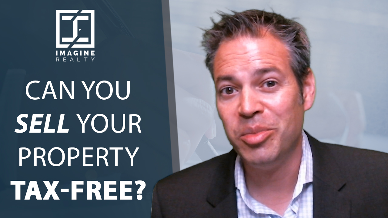 Selling Your Property Tax-Free