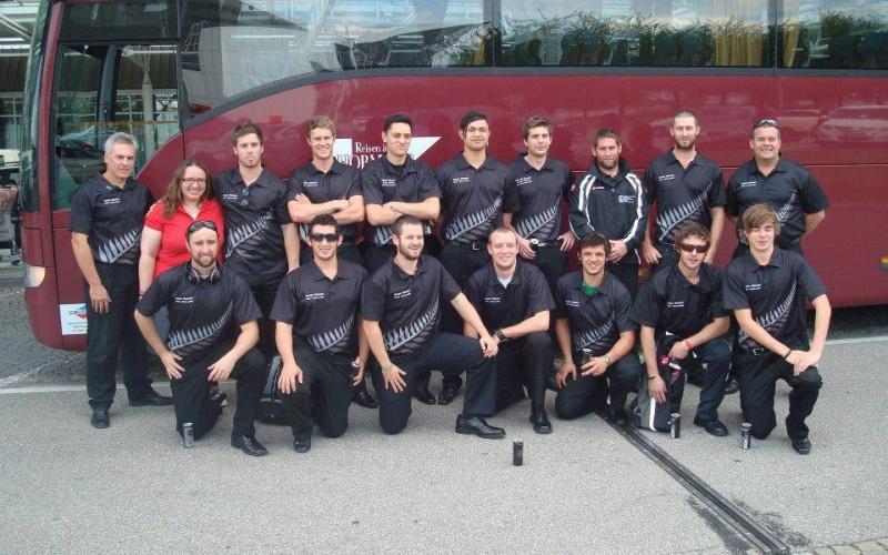 2012 NZ Team