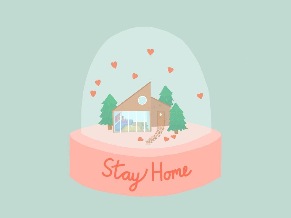 stay-home-snow-globe