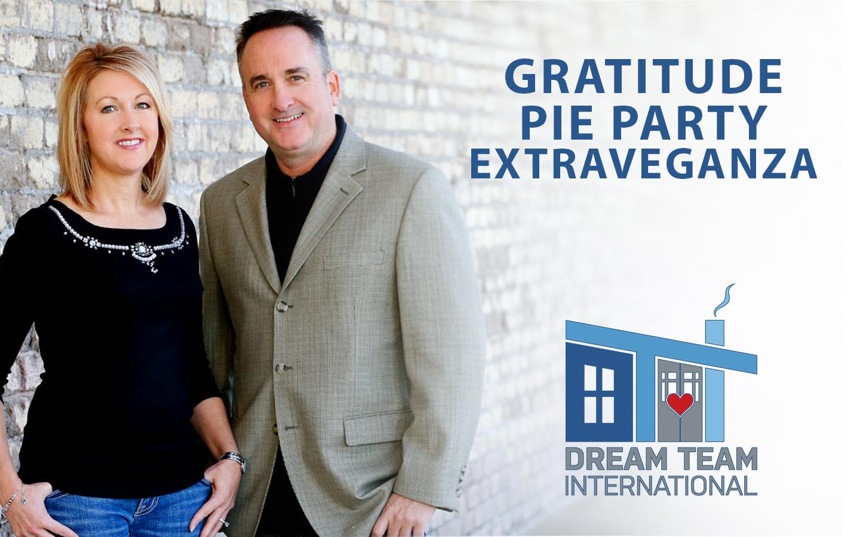 Gratitude Pie Party Extravaganza