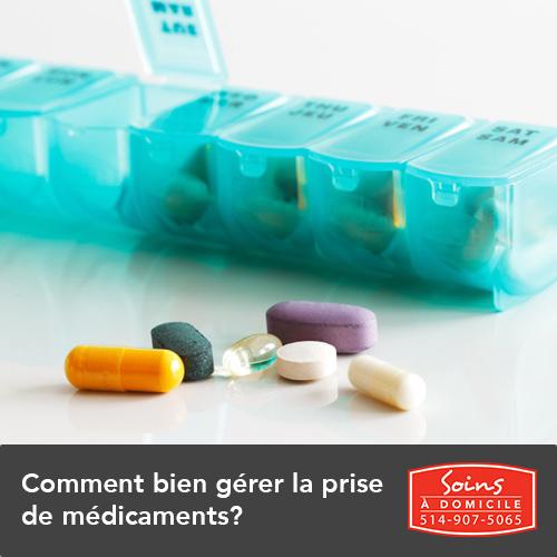comment gérer les médicaments d'ainés