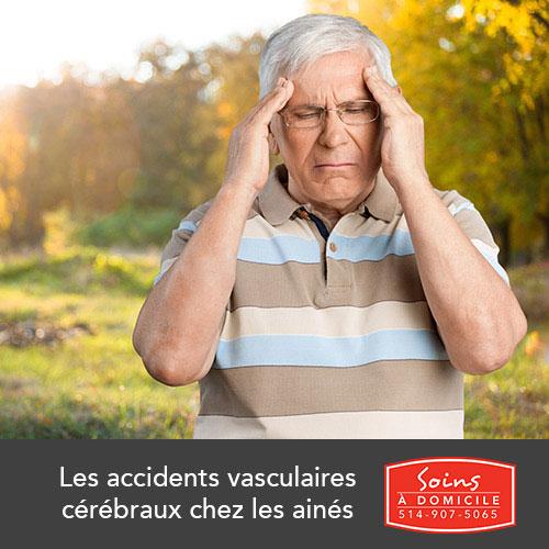 soins pour accidents vasculaires cerebraux chez les aines (AVC)