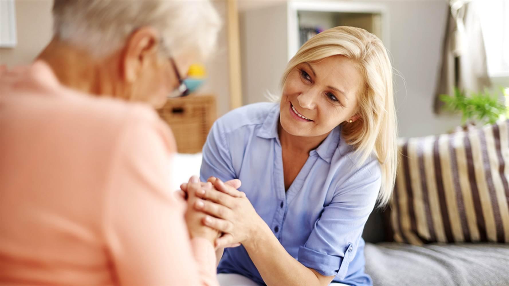 aider une aînés avec la dépression
